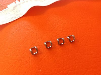 AU8 • Buy ZIPPER TOP STOPS STAINLESS X 4 To Make Custom Length NO 10 ZIPS Inc POSTAGE