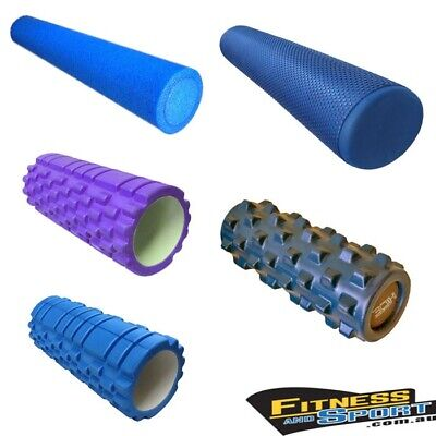 AU70 • Buy Foam Roller Gym Fitness Yoga Pilates Roller Running Exercise Massage EVA