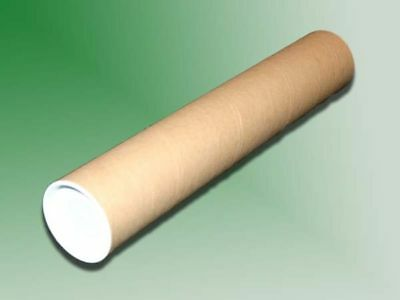 $11.99 • Buy 20 - 2  X 24  Cardboard Mailing Shipping Tubes W/ End Caps