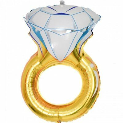 AU4.49 • Buy Diamond Ring Balloon - SALE PRICE - Wedding - Engagement - Party