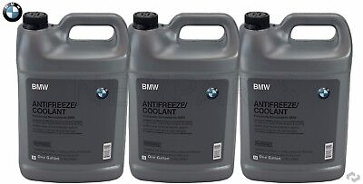 £51.77 • Buy NEW 3-Gallons Genuine For BMW Blue Color Antifreeze/Coolant 82141467704