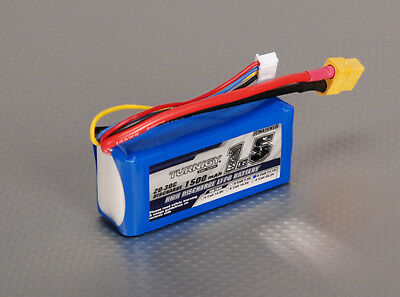 AU20.78 • Buy RC Turnigy 1500mAh 3S 20C Lipo Pack
