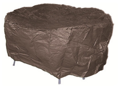 AU15.84 • Buy OFC002  155gsm Waterproof 220 Cm Dia; Outdoor Setting Cover; Charcoal