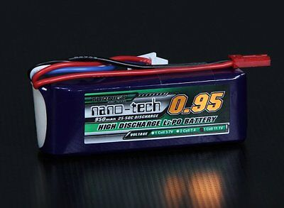 AU17.31 • Buy RC Turnigy Nano-tech 950mah 3S 25~50C Lipo Pack