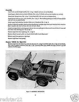 $7.99 • Buy M38A1 4X4 JEEP Military Manual HUGE SET  TM & ORD Parts List On CD In .pdf