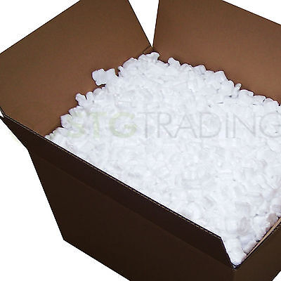 £24.99 • Buy Loose Fill Packing Peanuts 's' Shape Polystyrene Chips 5 10 15 30 60 90 Cubic