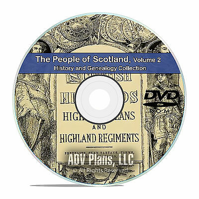 £4.71 • Buy Scotland Vol 2 People Cities Family History And Genealogy 133 Books DVD CD B48