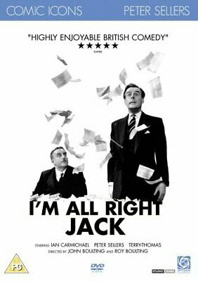 £8.99 • Buy I'm All Right Jack (DVD) Ian Carmichael, Peter Sellers, Terry-Thomas
