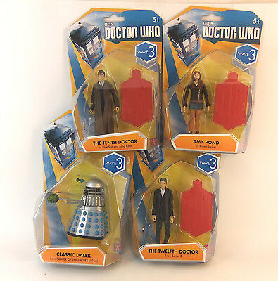 £9.99 • Buy Bbc Doctor Who 3.75  Figure - Choose Your  Character -  Wave 3 Dalek 12th Doctor