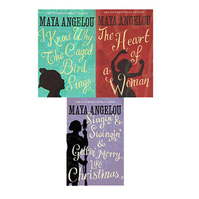 £19.99 • Buy Dr Maya Angelou Woman Classics Collection 3 Books Set,I Know Why The Caged Bird