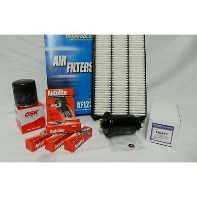 AU55.15 • Buy Suits CAMRY Filter Kit OIL AIR FUEL+PLUGS 2.2L 5SFE SDV10, SXV10, 20, 20R 93-02
