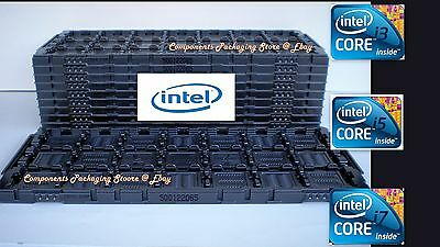 CPU Tray For LGA 1155 1156 1150 Intel Core I3 I5 I7 X34 E3 CPU's 12 Fit 252 CPUs • 47.66£