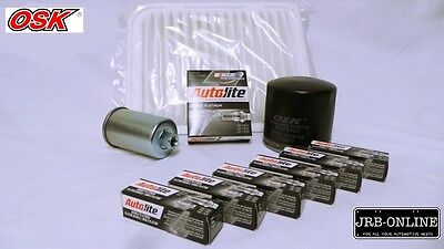 AU104.95 • Buy Ford Fg 4.0l Falcon, Ute, Rtv, Air Oil Fuel Filter Spark Plugs Kit  05/2008 - On