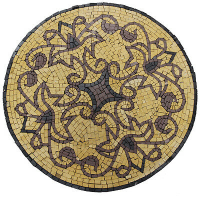 £113.64 • Buy Medallion Pattern Tile Stone Marble Mosaic IN612