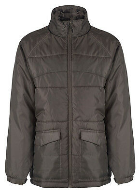 Peter Storm Mens Warm Padded Winter Parka Coat New Brown Insulated OutdoorJacket • 9.99£