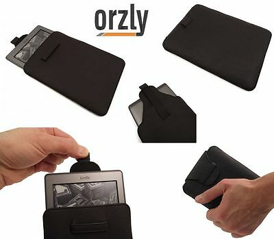 Amazon Kindle 4 Wifi 6  Pu Leather Slip Pouch Sleeve Case Cover [NEW] By Orzly • 4.95£