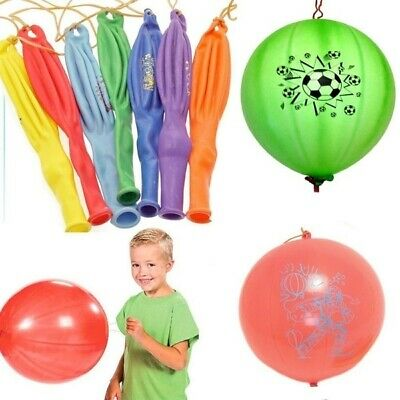 AU9.95 • Buy 3pcs PUNCH BALLOONS Balloon Party Bag Fillers Pinata Birthday Inflatable