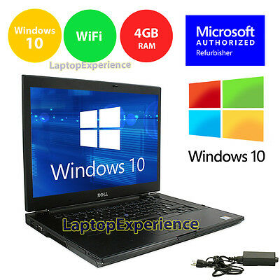 $268 • Buy DELL LAPTOP LATiTUDE WINDOWS 10 WIN INTEL CORE I5 4GB 250GB DVD RW WIFI 15.6  HD