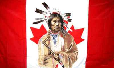 $13.16 • Buy  CANADIAN INDIAN  Flag 3x5 Ft Poly (2 Styles Avail) Man Horse