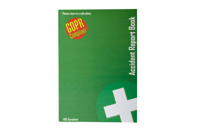 £5.75 • Buy  Accident Report Book - HSE & GDPR Compliant