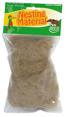 £4.19 • Buy Canary Nesting Material Finch Budgie Etc Nest Material & Hamsters HATCHWELLS