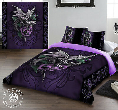 Anne Stokes DRAGON BEAUTY - Duvet Cover Set - Available In Double And King • 82.95£