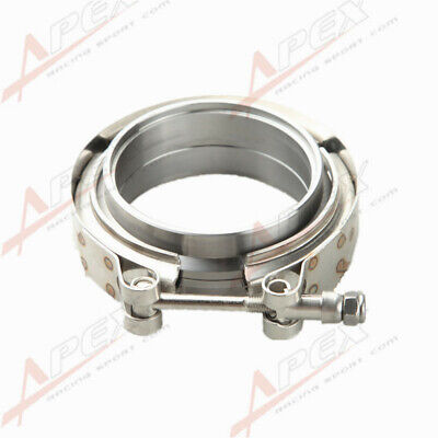 AU29.92 • Buy 2.5  Self Aligning Male/Female V-Band Vband Clamp CNC Mild Steel Flange Kit AU