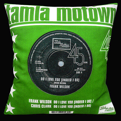 Tamla Motown Northern Soul 16 X16  40cm Cushion Cover Frank Wilson Do I Love You • 10.95£