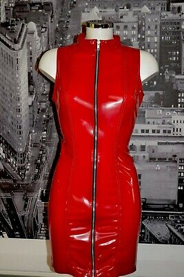 £69.99 • Buy The Federation Rubber Latex Zip Dominatrix Dress  All Colours  Brand New