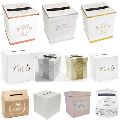 £7.99 • Buy Wedding Card Post Box, Receiving Boxes, Anniversary Or Birthday Party