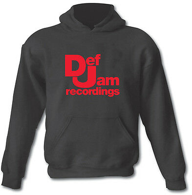 £21.99 • Buy DEF JAM RECORDINGS Hip Hop Rap Urban Heavy Cotton Hoodie Sizes From Small To XXL