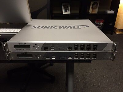 Sonicwall NSA E5500 Network Security Appliance • 2,500$