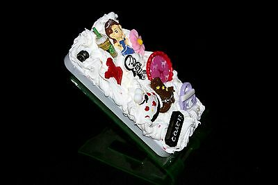 Apple IPhone 4/4s  Decoden Case With Cabochons And Silicone • 5.79£