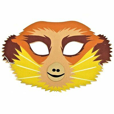 Meerkat Foam Face Mask - Safari Animal Mask - Children & Grown Ups - Masquerade • 2.99£