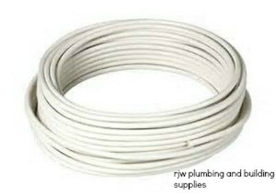 10 Metre Coil 10mm Pvc Copper Coated Tube/pipesuitible Gas/water/oil/heating • 42.99£