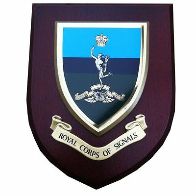 Royal Corps Of Signals Wall Plaque UK Made For MOD Regimental Military • 19.99£