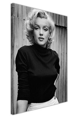 Iconic Marilyn Monroe Fashion Shoot Framed Canvas Prints Wall Art Pictures Deco • 9.99£