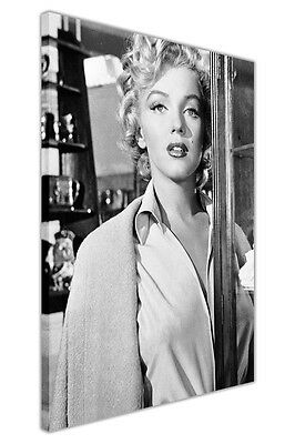 Black And White Marilyn Monroe Movie Set Pictures Canvas Wall Art Prints Framed • 9.99£