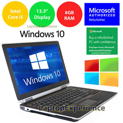 $279 • Buy DELL LATITUDE E6320 LAPTOP WINDOWS 10 WIN DVD INTEL I5 2.5GHz 8GB 320GB HD HDMI