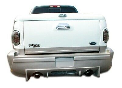 $390 • Buy Platinum Rear Bumper Cover 1 Piece Fits Ford F-150 97-03 Duraflex