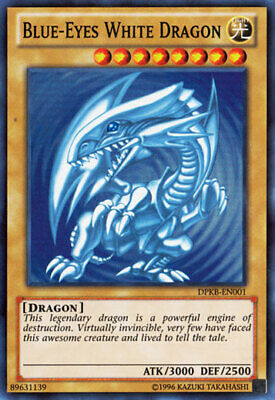 AU17.99 • Buy Yugioh Card - Blue-Eyes White Dragon *Super Rare* DPKB-EN001 (NM)