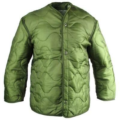AU39.34 • Buy US Army Military M65 Field Jacket Quilted OD Green GI Coat Liner M-65 S M L XL