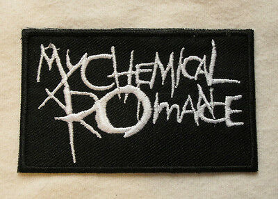 £1.99 • Buy My Chemical Romance Iron On Sew On Embroidered Patch Emo Goth Punk Rock