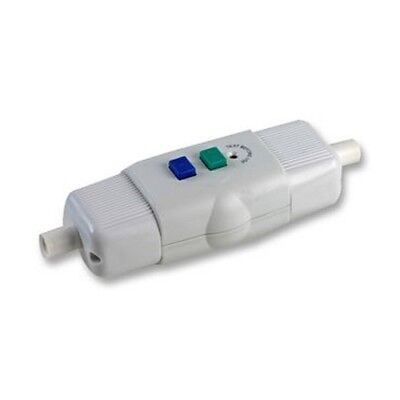 In-line Rcd Unit Protection Against Electrical Shock Circuit Breaker Garden Diy • 11.99£