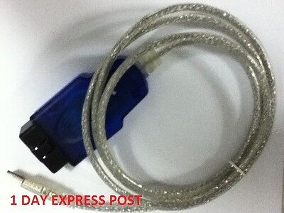 AU75 • Buy Vr Vs Vt Vx Vy Aldl Diagnostic Usb Cable Holden Commodore Airbag Pcm Scan Tool