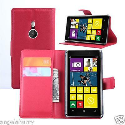 AU4.93 • Buy Premium Credit Wallet Leather Case Cover For Nokia Lumia 925