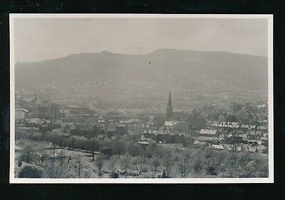 Wales Glam Glamorgan PONTYPRIDD General View C1950/60s? Judges Proof Photo • 8£