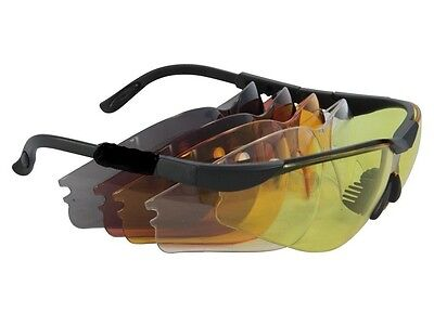 Radians Interchangeable Lens Kit- Shooting Glasses Clay Pigeon  • 39.99£