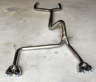 $495 • Buy 1998-2002 FOR Camaro Trans Am Catback Exhaust + Ypipe + TIPS Z28 SS V8 LS1