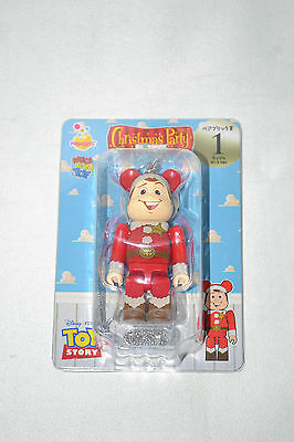 $12.99 • Buy Medicom Be@rbrick Bearbrick Disney Pixar 2013 Christmas Party No 1 Woody NEW
